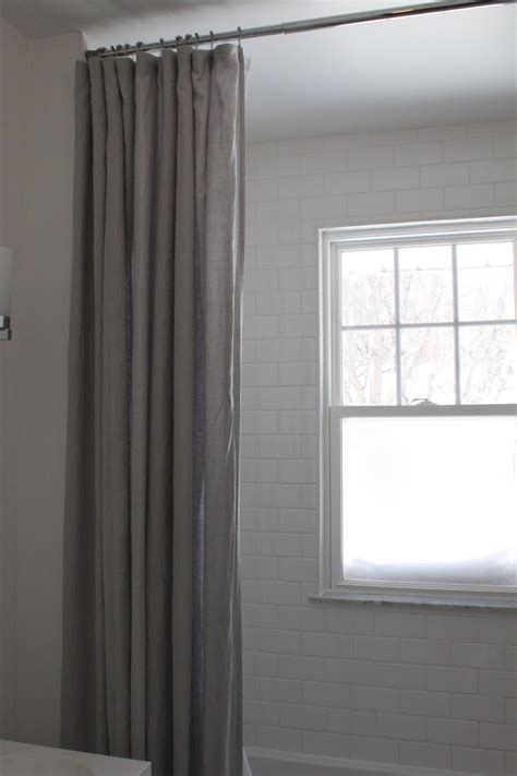 extra long drapes curtains modern jane our extra long shower curtain ikea aina