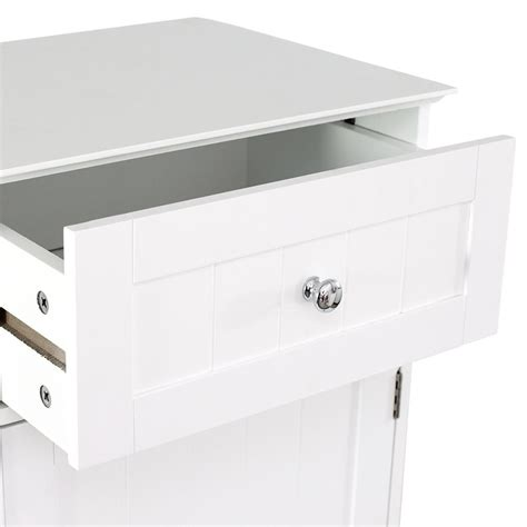priano bathroom cabinet door drawer wall mounted storage