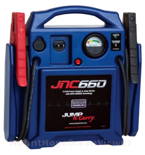 jump boat battery with car battery jump starter portable booster cables jumper 12v