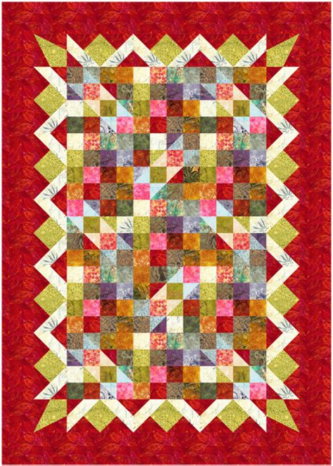 Printed Quilt annabelle printed quilt pattern