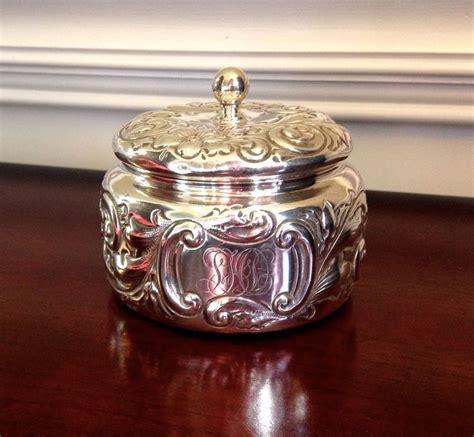 Vanity Jar by 17 Best Images About Sterling Silver Dresser Jar On