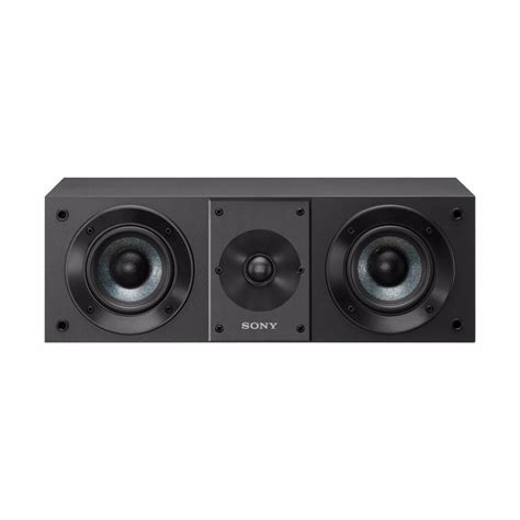 sony sscs8 center channel speaker w pair of bookshelf