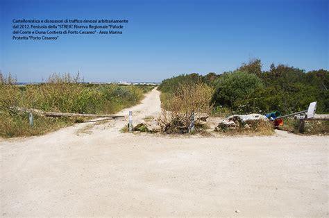 ufficio parchi regione puglia quot danneggiamento in area parco quot esposto di legambiente