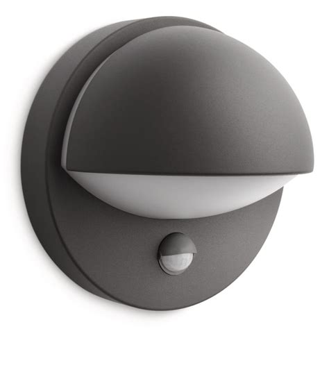 philips june outdoor wall light in anthracite philips june outdoor wall light in anthracite motion