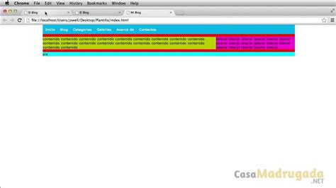 tutorial xhtml css tutorial xhtml css 63 crear menu de navegaci 243 n youtube