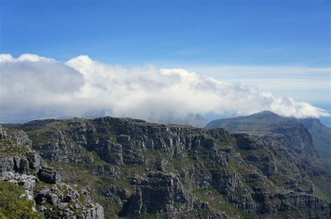 Table Top Mountain South Africa by Table Mountain South Africa