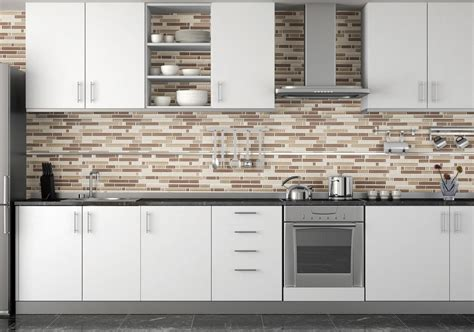 white glass tile backsplash contemporary kitchen modern kitchen backsplash to create comfortable and cozy