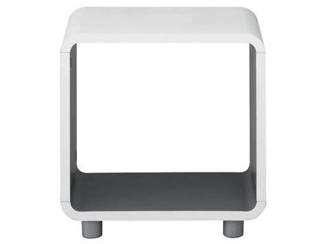 Table De Nuit Conforama by Chevet Niche Boxi Coloris Blanc Gris Vente De Chevet