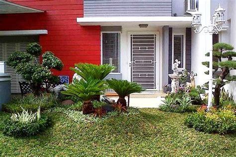 desain taman rumah sederhana minimalis terbaik  rumahpedia