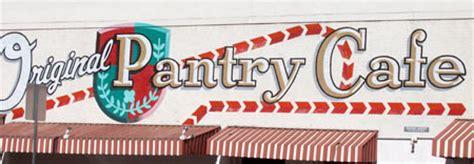 the original pantry cafe cafes restaurant los angeles