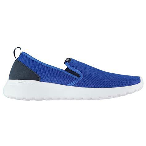 Adidas Cloudfoam Slip On Lite Racer Original adidas mens cloudfoam lite racer slip on trainers runners shoes breathable ebay