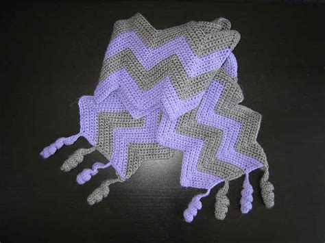 crochet pattern zig zag scarf 25 different ideas for crocheting a scarf crochet