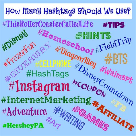 the hashtags you should be using on instagram to get your photos noticed free printable guide how many hashtags should we use this roller coaster called