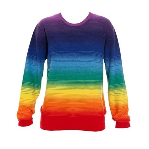 Rainbow Sweater rainbow sweater color wheel