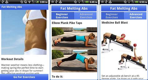 best android apps for getting flat chiseled six pack abs android authority