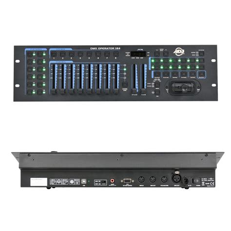 adj dmx operator pro lighting controller buy adj american dj dmx operator 384 audiofanzine