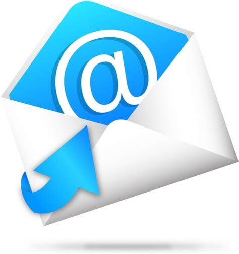 email icon vector e mail icon with arrow vector eps10 free vector in adobe