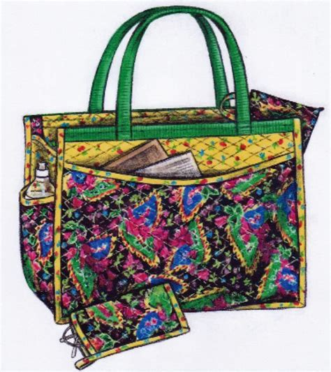 Quilted Bag Pattern by The Quilted Carryall Tote Bag By Barbara Weiland Craftsy