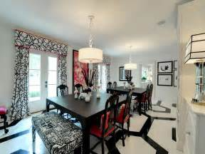 Red Black White Home Decor by Impeccable Plantation Style Estate