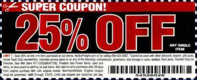 Harbor freight coupons may 2015 more printable harbor freight coupons