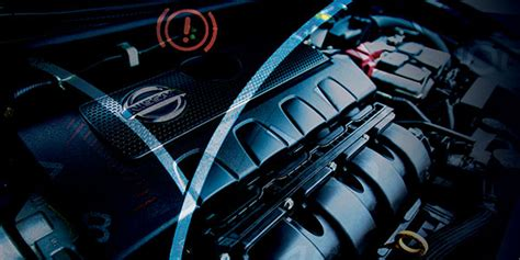 nissan check engine light the engine system service required light is on in the info