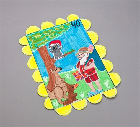 australian christmas crafts australian sts crayola