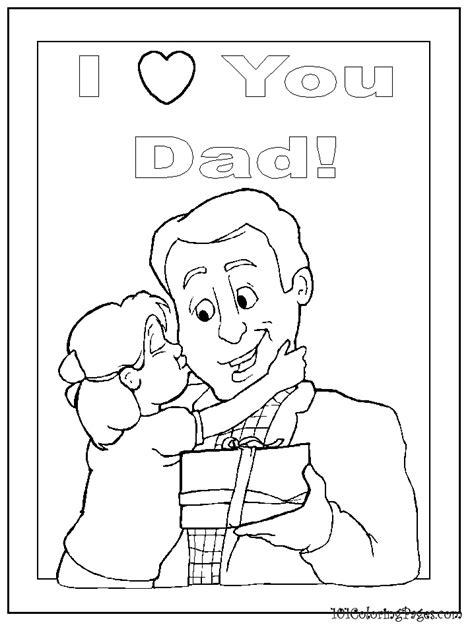 free i love you daddy coloring pages i love you dad coloring pages az coloring pages
