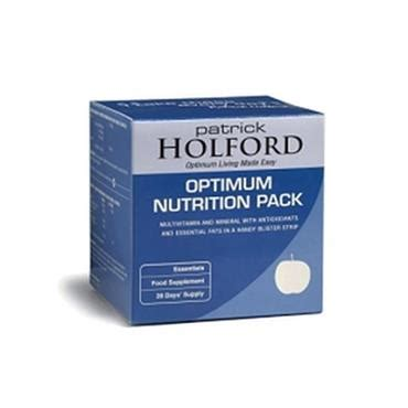 Holford 9 Day Detox Pack by Holford Optimum Nutrition Pack 28 Day Pack