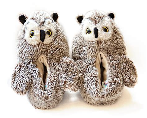 owl slippers etsy your place to buy and sell all things handmade