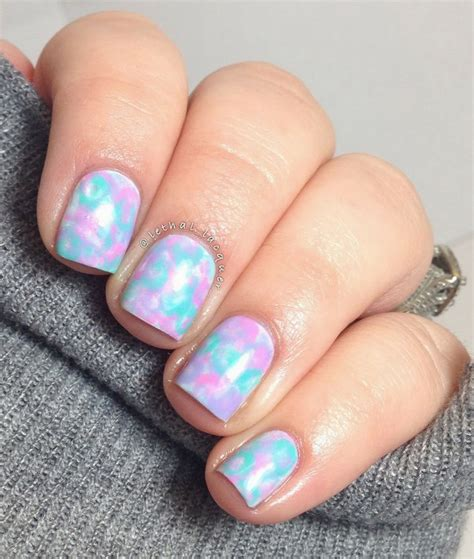 water color nails 17 best ideas about water color nails on