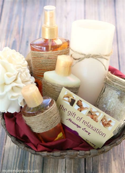 diy spa gifts 20 gift basket ideas craft o maniac
