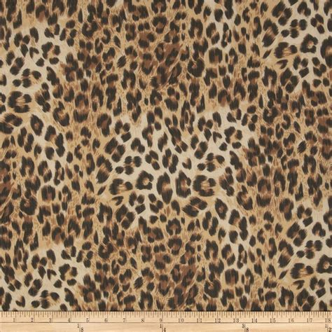 leopard print fabric clearance