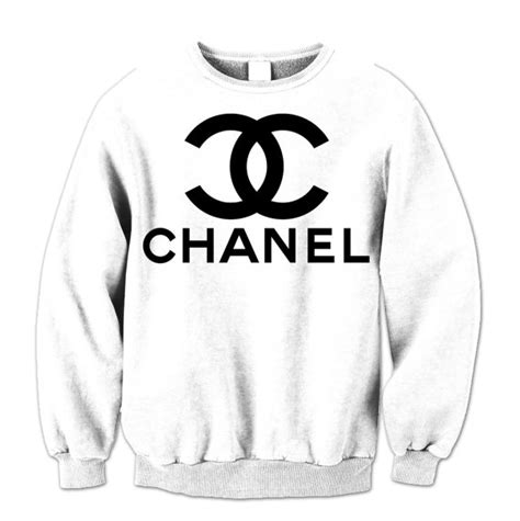 Channel Hoodie chanel sweatshirt hoodie hooded jumper unisex by teashirtuk