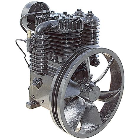 23 cfm air compressor two stage 5 hp belt driven