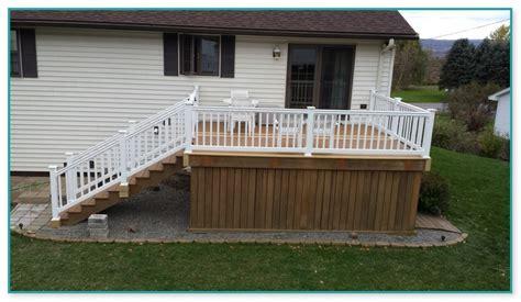 deck railing  degree corner
