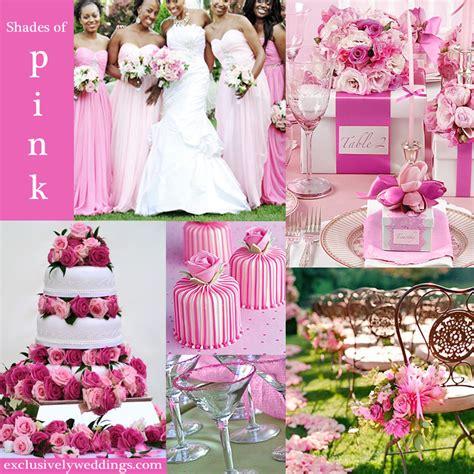 Wedding Pink by Pink Wedding Color Twelve Combinations