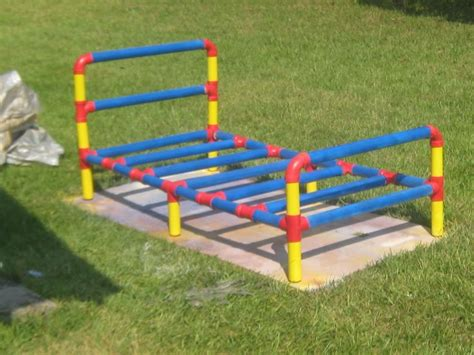 PVC twin bed   PVC Pipes: Creative Things to do With Them