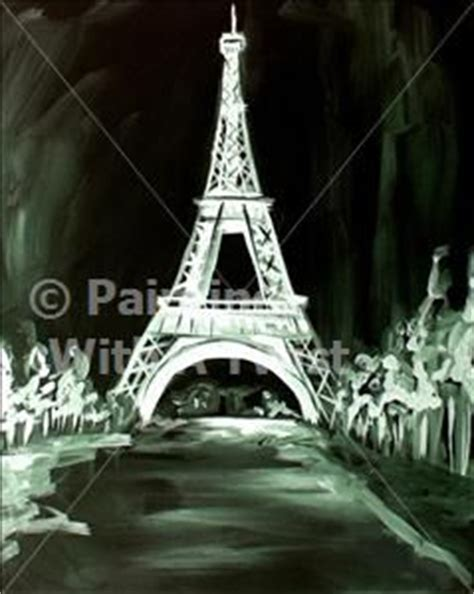 paint with a twist eiffel tower 17 best images about painting on at midnight