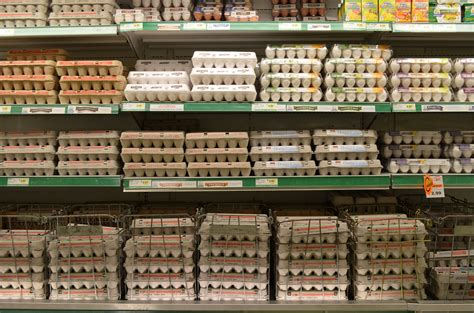 why are eggs in the dairy section file grocerystoreeggs jpg