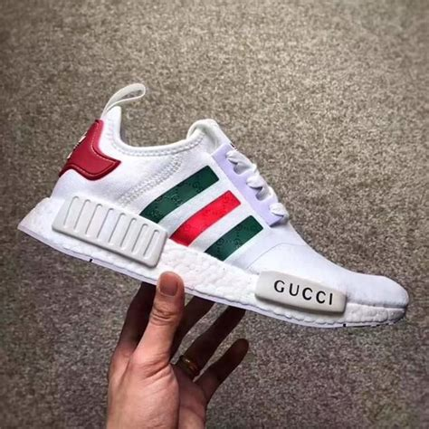 Jual Sepatu Gucci Sneakers Black White Bees Mirror Quality gucci x adidas nmd mesh white bee unboxing review from