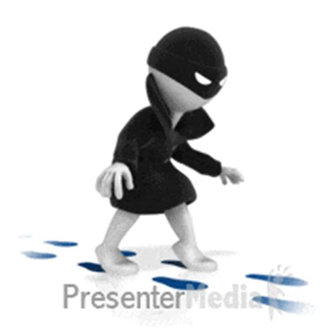 gif format in powerpoint thief stealing credit card business and finance great