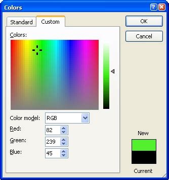 spectrum color picker xcolorspectrumctrl a non mfc color picker that
