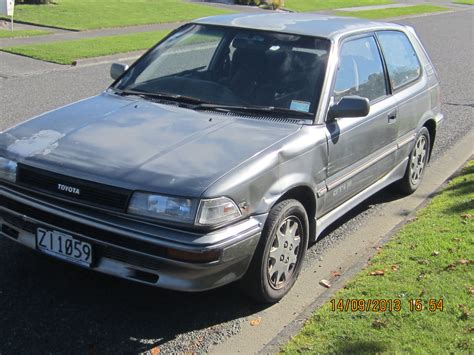 1988 Toyota Corolla Fx Curbside Classic 1988 Toyota Corolla Fx Not Even Broken