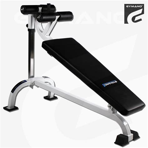 45 degree decline bench weighted situps gymano pro decline crunch bench adjustable sit up abs core commercial ebay