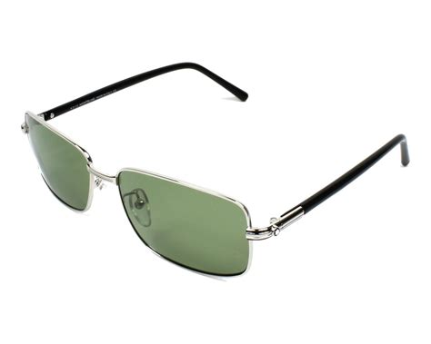 Montblanc Mb07 Silver Black mont blanc sunglasses mb 503 t 16r silver visionet