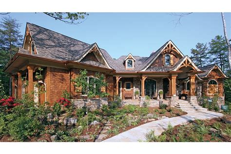 Craftsman House Plans With Porch by Home Plan Homepw12782 3126 Square Foot 3 Bedroom 2