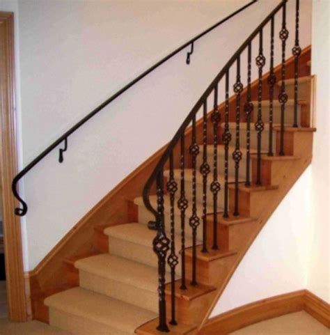 Metal Stair Handrails Interior interior wrought iron railings stairs