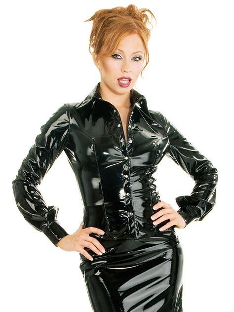 42300 Classic Silk Blouse Blouse Sat honour s shirt blouse in pvc black with shaped hem classic trimming ebay