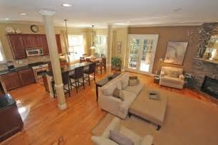 open floor plan kitchen living room open kitchen and living room open living room kitchen