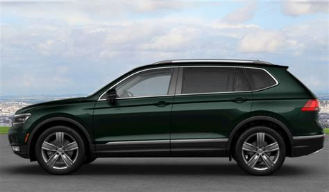 dark green volkswagen 2018 volkswagen tiguan exterior color options